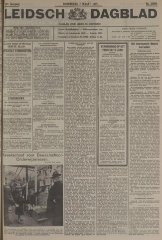 Leidsch Dagblad 1935-03-07