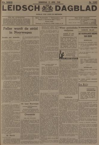 Leidsch Dagblad 1940-04-25