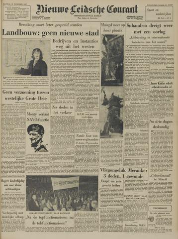Nieuwe Leidsche Courant 1957-11-18