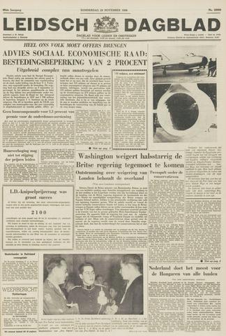 Leidsch Dagblad 1956-11-29