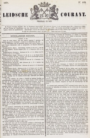 Leydse Courant 1871-05-12