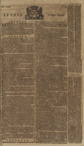 Leydse Courant 1754-08-02