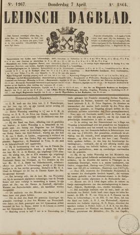Leidsch Dagblad 1864-04-07