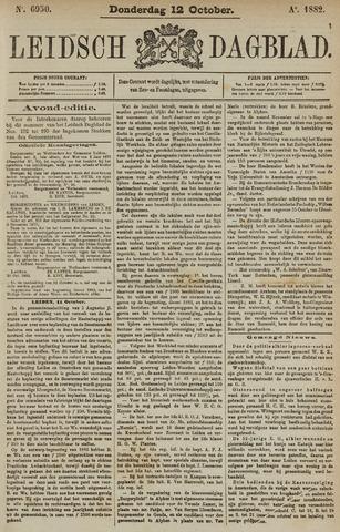 Leidsch Dagblad 1882-10-12