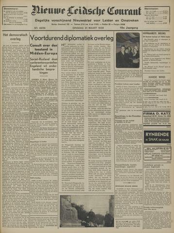 Nieuwe Leidsche Courant 1939-03-21