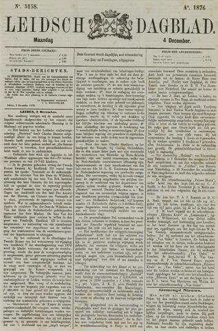 Leidsch Dagblad 1876-12-04