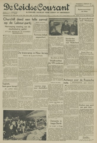 Leidse Courant 1951-02-08