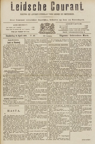 Leydse Courant 1887-04-14