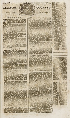 Leydse Courant 1826-03-22