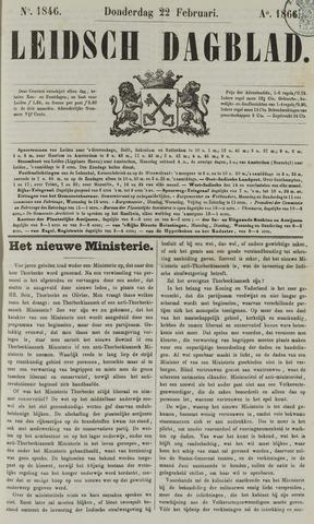 Leidsch Dagblad 1866-02-22