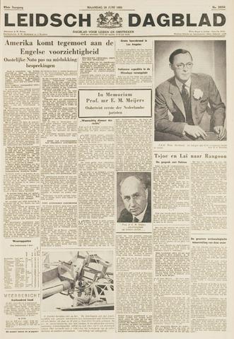 Leidsch Dagblad 1954-06-28