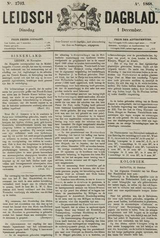 Leidsch Dagblad 1868-12-01