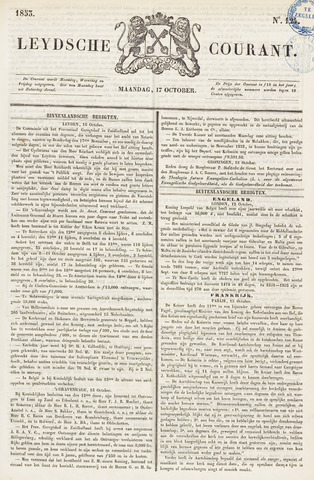 Leydse Courant 1853-10-17