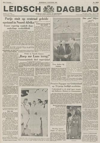 Leidsch Dagblad 1955-10-05