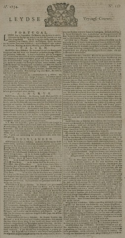 Leydse Courant 1734-10-22