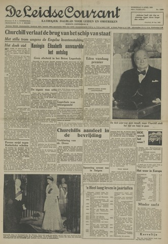 Leidse Courant 1955-04-06
