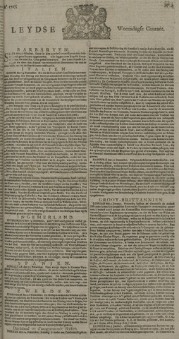 Leydse Courant 1727-01-08