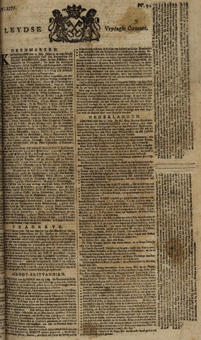 Leydse Courant 1777-08-01