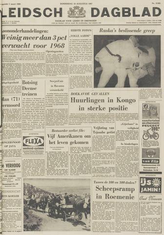 Leidsch Dagblad 1967-08-10