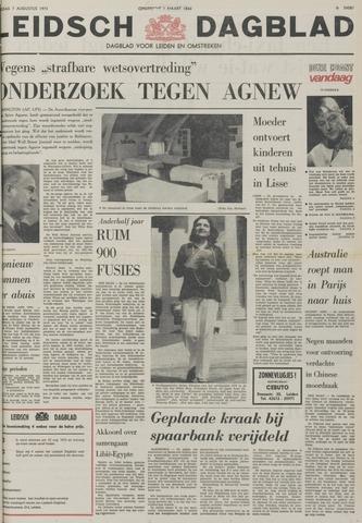 Leidsch Dagblad 1973-08-07