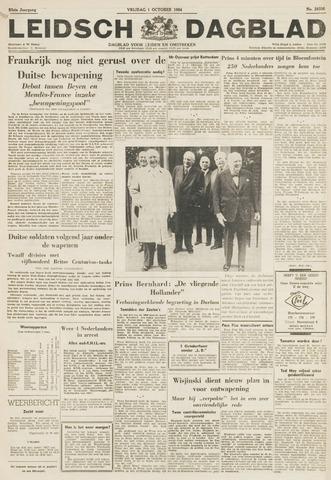 Leidsch Dagblad 1954-10-01