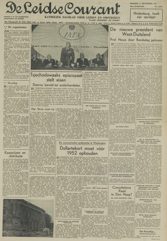Leidse Courant 1949-09-13