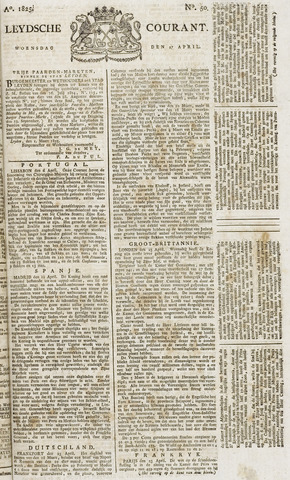 Leydse Courant 1825-04-27