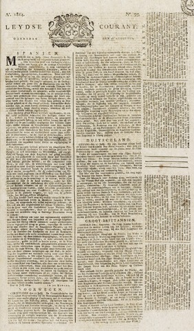 Leydse Courant 1814-08-10
