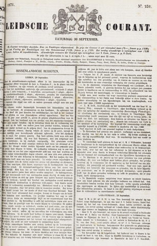 Leydse Courant 1871-09-30