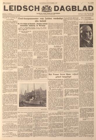Leidsch Dagblad 1947-11-29