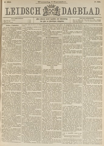 Leidsch Dagblad 1894-09-05