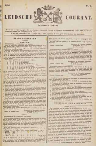 Leydse Courant 1884-01-08