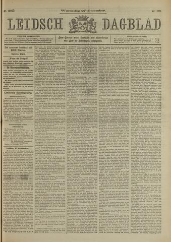 Leidsch Dagblad 1911-12-27