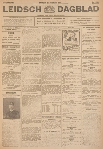 Leidsch Dagblad 1928-12-31