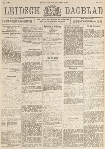 Leidsch Dagblad 1915-09-25