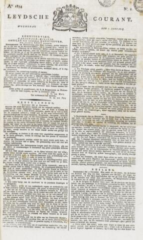 Leydse Courant 1834