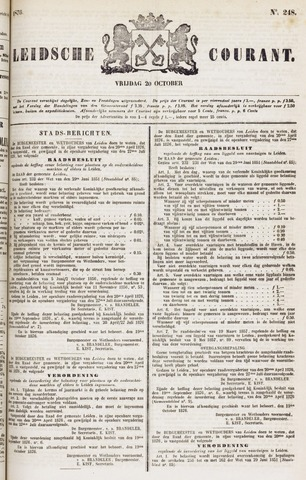 Leydse Courant 1876-10-20