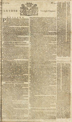 Leydse Courant 1773-12-17