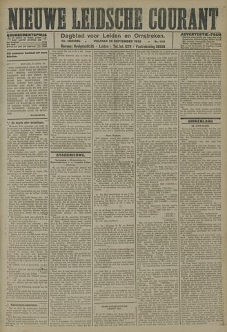 Nieuwe Leidsche Courant 1923-09-28
