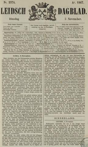 Leidsch Dagblad 1867-11-05