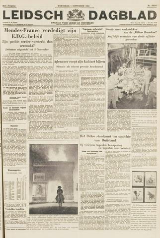 Leidsch Dagblad 1954-09-01