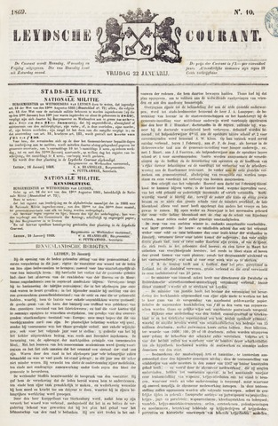 Leydse Courant 1869-01-22