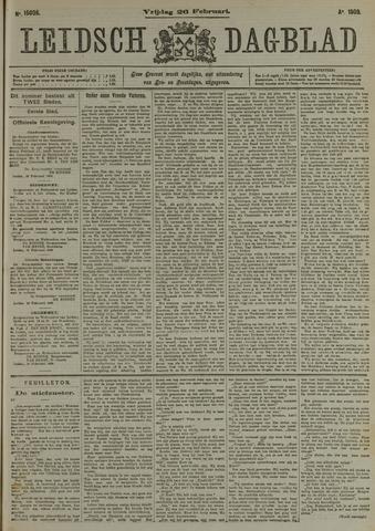 Leidsch Dagblad 1909-02-26