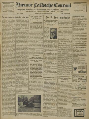 Nieuwe Leidsche Courant 1939-01-02