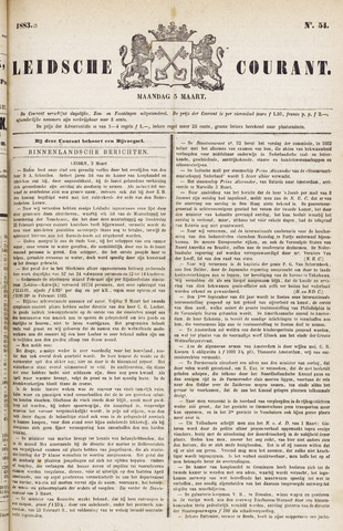 Leydse Courant 1883-03-05