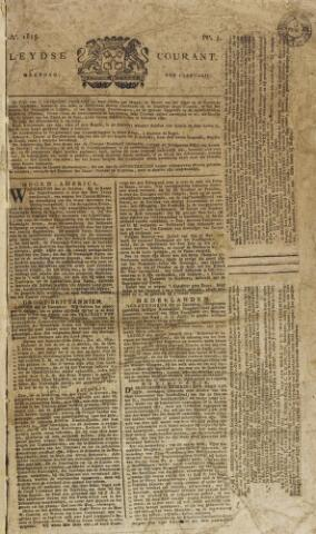 Leydse Courant 1815