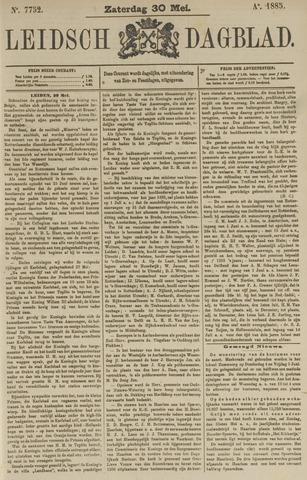 Leidsch Dagblad 1885-05-30