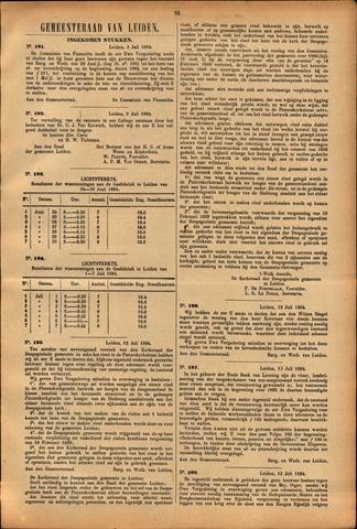 Handelingen van de Raad 1894-07-03