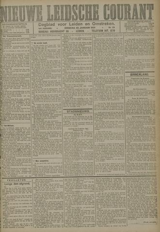 Nieuwe Leidsche Courant 1921-01-25