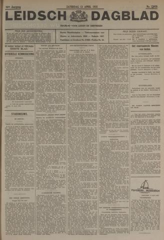Leidsch Dagblad 1935-04-13